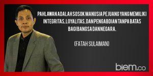 Ini Esensi Hari Pahlawan Nasional di Mata Fatah Sulaiman, Kamu Harus Tahu!