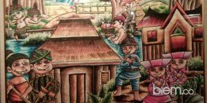 Ratusan Lukisan dan Kriya Anak Difabel Resmi Dipamerkan