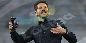 Diego Pablo Simeone Yakin Menantang Barca