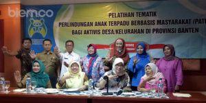Tindak Lanjuti TOT, DP3AKKB Banten Selenggarakan Pelatihan Kader Tematik PATBM