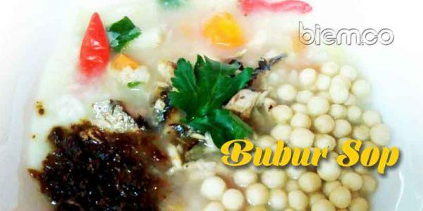 Resep Bubur Sop, Makanan Khas Labuan Banten