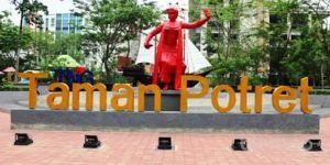 Taman Potret, Tempat Wisata Asyik untuk Narsis di Kota Tangerang