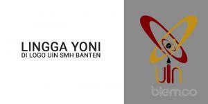 Lingga Yoni di Logo UIN SMH Banten