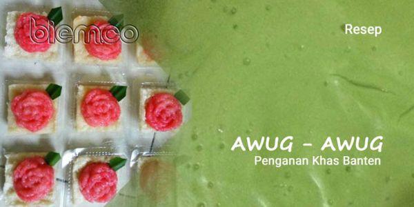 Resep Awug-awug