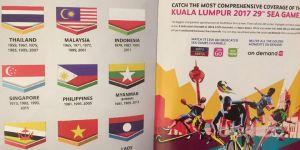 Bendera Indonesia Terbalik pada Buku Panduan Pembukaan Sea Games 2017, Tagar Shame On You Malaysia Menjadi Trending Topic