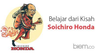 Photo of Baru Gagal Sekali Saja Sudah Menyerah? Bacalah Kisah Sukses Soichiro Honda Ini!