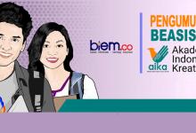 Photo of biem.co Umumkan 5 Penerima Beasiswa Akademi Indonesia Kreatif
