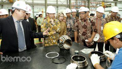 Photo of Arcandra Tahar Resmikan Pabrik Pembuatan Katup Dalam Negeri di Kabupaten Serang