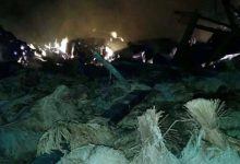 Kebakaran di Baduy