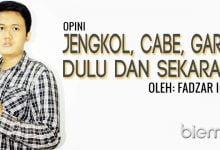 Photo of Fadzar Ilham: Jengkol, Cabe dan Garam; Dulu dan Sekarang
