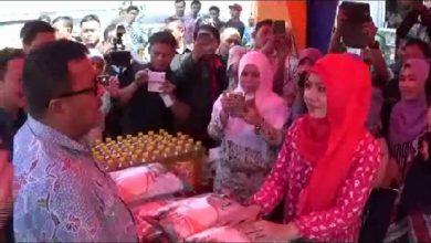 Photo of Hari Pertama Jadi Gubernur, Rano Pantau Operasi Pasar Daging Sapi