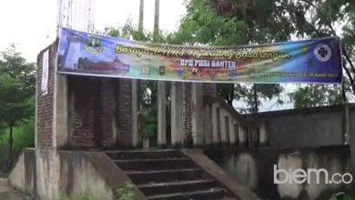 Photo of Habiskan Anggaran Rp277 Juta, Pembangunan Gapura Anyer Masih Mangkrak, Ada Apa?