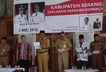 Photo of Rayakan Hardiknas, Wabup Serang Deklarasikan Gerakan Budaya Baca