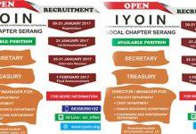 Photo of IYOIN LC Serang Buka Pendaftaran: Yuk, Ikut Berkontribusi Untuk Indonesia!