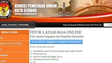 Photo of KPU Siapkan Fitur Latam-Mas untuk Pilkada Kota Serang 2018, Ini Fungsi dan Cara Mengaksesnya!