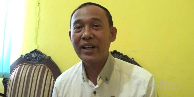 Kabid BPBD Kabupaten Serang , Tb Maftuhi
