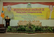 Photo of DPD Golkar Kabupaten Serang Gelar Musda IX