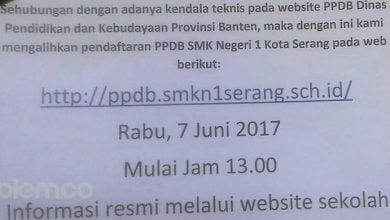 Photo of Mulai Hari Ini! PPDB SMA/SMK Negeri di Provinsi Banten Dialihkan ke Situs Sekolah