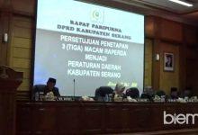 Photo of Ketua DPRD dan Belasan Dewan Tidak Hadir dalam Paripurna Penetapan Tiga Raperda
