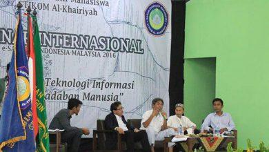 Photo of STIKOM Al-Khairiyah Gelar Seminar Sastra Internasional
