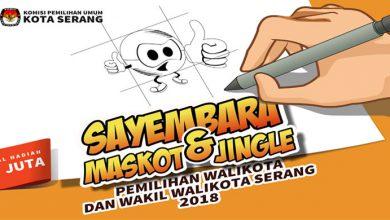 Photo of KPU Kota Serang Sayembarakan Maskot dan Jingle Pilkada Kota Serang, Ayo Ikutan!