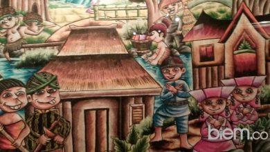 Lukisan karya Anak Difabel
