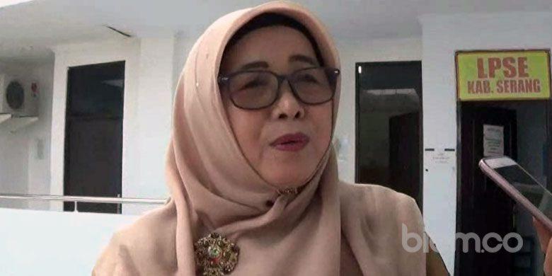Kepala Dinas Kesehatan, Kabupaten Serang, Sri Nurhayati