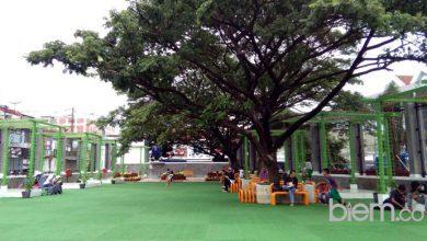 Photo of Indahnya Taman Nurul Ikhlas Masjid Agung Cilegon, Singgah Yuk!