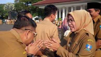 Photo of Pemkab Serang Gelar Halalbihalal usai Apel Pagi
