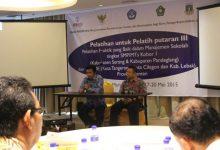 Photo of Puluhan Kepala Sekolah dan Pengawas Lima Kabupaten di Banten Ikut Pelatihan USAID PRIORITAS