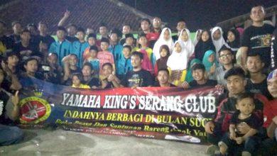Photo of Santuni Anak Yatim Dhuafa dan Buka Bersama, YM Banten Gandeng Yamaha King's Serang Club Banten