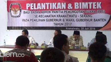 Photo of KPU Minta PPS 'Tancap Gas' Siapkan Pilgub Banten