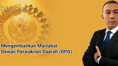 Photo of Djoni Gunanto: Mengembalikan Martabat Dewan Perwakilan Daerah (DPD)