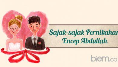 Photo of Sajak-sajak Pernikahan Encep Abdullah