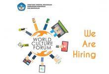 Photo of Open Recruitment Secretariat World Culture Forum 2016, Terakhir 31 Januari