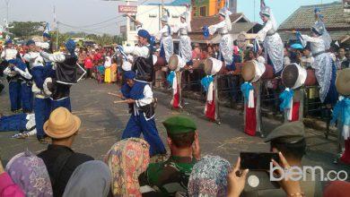 Photo of Pawai Budaya Akhiri Rangkaian HUT ke-15 Provinsi Banten