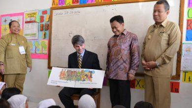 Photo of Wakil Dubes AS:  Semakin Bagus Kemampuan Membaca, Semakin Baik Kemampuan Belajar