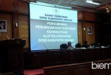 Rapat Paripurna AKD