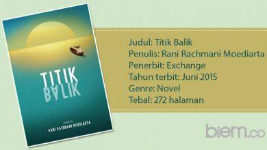 Photo of Review Novel 'Titik Balik': Avatar yang Mengajak 'Pulang'