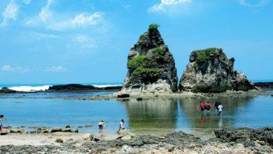 Photo of Sawarna, Pantai di Selatan Banten yang Masih Seperti Perawan