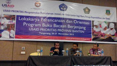 Photo of Atasi Kesulitan Baca Siswa, USAID PRIORITAS Gelar Lokakarya 'Buku Bacaan Berjenjang'
