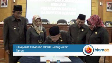 Photo of 6 Raperda Disahkan DPRD Jelang Akhir Tahun