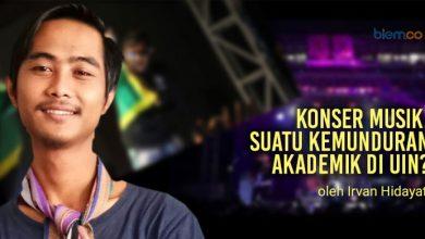 Photo of Irvan Hidayat: Konser Musik, Suatu Kemunduran Akademik di UIN?