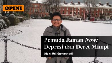 Photo of Udi Samanhudi: Pemuda Jaman Now; Depresi dan Deret Mimpi