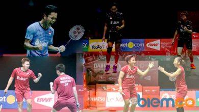 Photo of Kirim 4 Wakil, Inilah Jadwal Final Indonesia Masters 2018