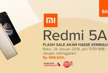 Flash Sale Redmi 5A