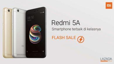 Photo of Ada yang Spesial di Flash Sale Redmi 5A Besok, Jangan Sampai Terlewat!