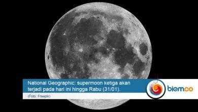 Photo of Fenomena Supermoon Lintasi Indonesia