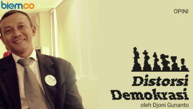Photo of Djoni Gunanto: Distorsi Demokrasi