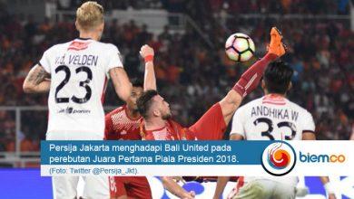 Photo of Tekuk Bali United, Persija Jakarta Juara Piala Presiden 2018